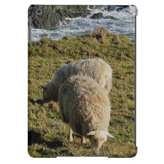 South Devon Two Sheep Grazing On Wild Coastline iPad Air Cases