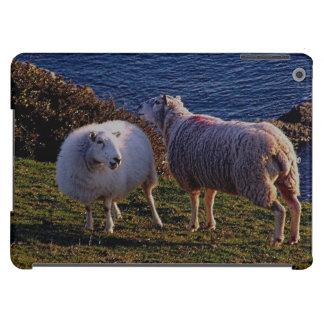 South Devon Two Sheep On Remote Coastline iPad Air Cases