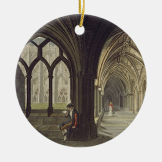 South East Angle of the Cloisters, plate T from 'W Ceramic Ornament