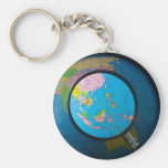 South east Asia in focus Basic Round Button Keychain