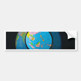 South east Asia in focus Bumper Sticker