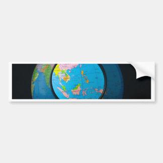 South east Asia in focus Bumper Sticker