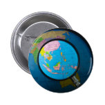 South east Asia in focus Pinback Button