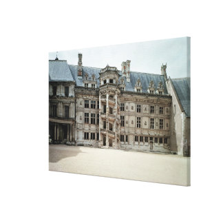 South east facade of the Francois I Wing Canvas Print