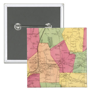 South East, Town 2 Inch Square Button