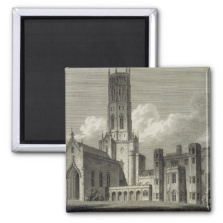 South-east view of Fonthill Abbey, 1812 (engraving 2 Inch Square Magnet