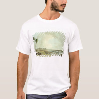 South East View of Fort St. George, Madras, plate T-Shirt