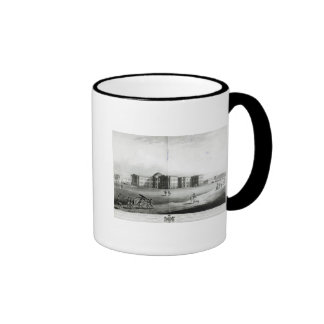 South East View of the New Government House Ringer Mug