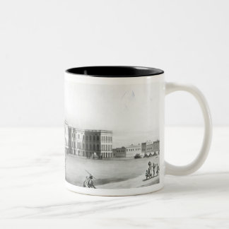 South East View of the New Government House Two-Tone Coffee Mug