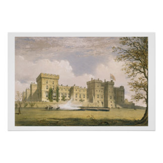 South East View of Windsor Castle, from 'Windsor a Poster