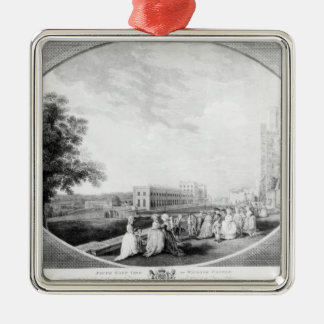 South East view of Windsor Castle Metal Ornament