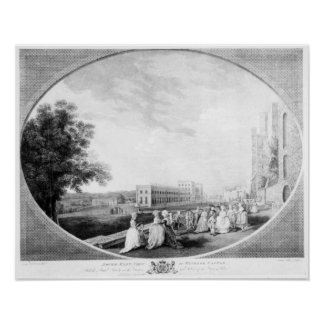 South East view of Windsor Castle Poster