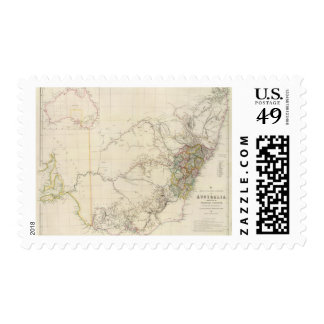 South Eastern Portion of Australia Postage