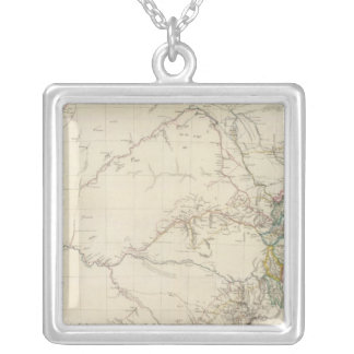 South Eastern Portion of Australia Silver Plated Necklace
