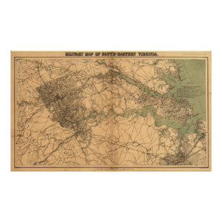 South Eastern Virginia Poster
