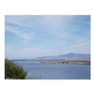 South End of Klamath Lake Postcard