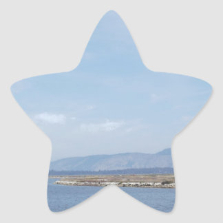 South End of Klamath Lake Star Sticker