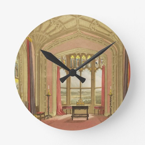 South End of St. Michael's Gallery, from 'Graphic Clocks