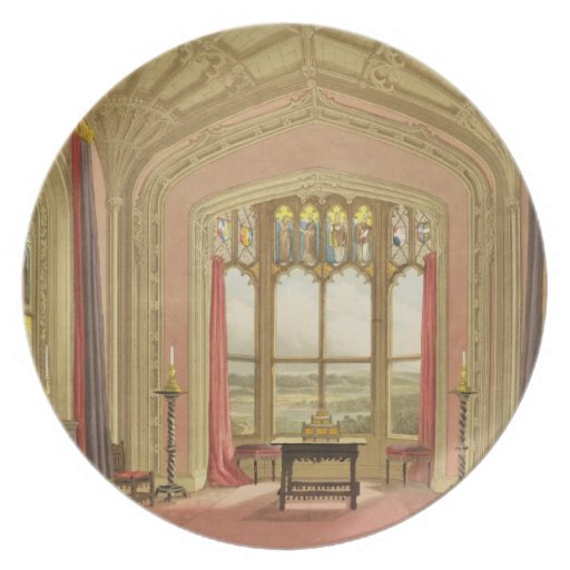 South End of St. Michael's Gallery, from 'Graphic Plate