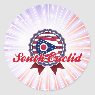 South Euclid, OH Classic Round Sticker