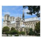 South Facade, Notre Dame Cathedral, Paris, France Photo Print