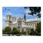 South Facade, Notre Dame Cathedral, Paris, France Postcard