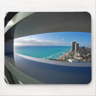 South Florida beach view. Mouse Pad