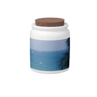 SOUTH FLORIDA CANDY JAR