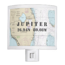 South Florida Nautical Chart Home Town Coordinates Night Light