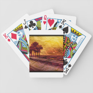 South Florida Sunset Bicycle Playing Cards
