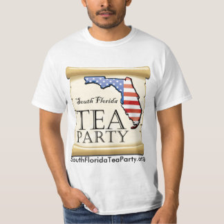 South Florida Tea Party - Don't Tread On Me T-Shirt