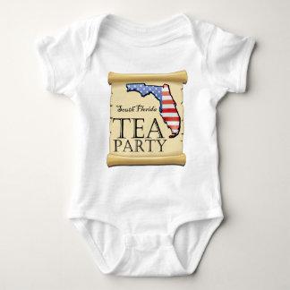 South-Florida-Tea-Party-Logo Baby Bodysuit