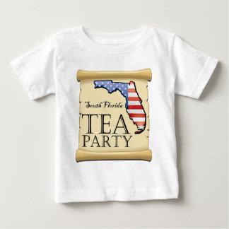 South-Florida-Tea-Party-Logo Baby T-Shirt