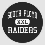 South Floyd - Raiders - High - Hi Hat Kentucky Round Stickers