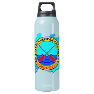 South Fork American River Rafting, California Insulated Water Bottle