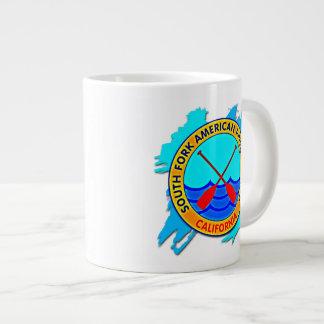 South Fork American River Rafting, California Large Coffee Mug