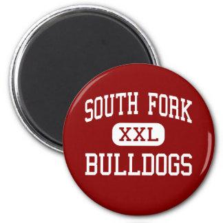 South Fork - Bulldogs - High - Stuart Florida Fridge Magnets
