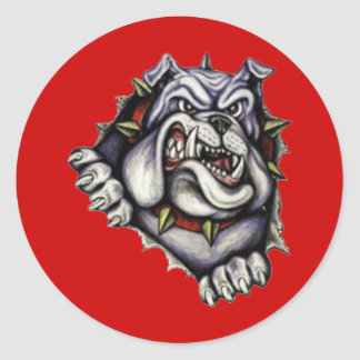 South Fork High School Classic Round Sticker