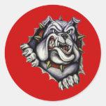 South Fork High School Round Sticker