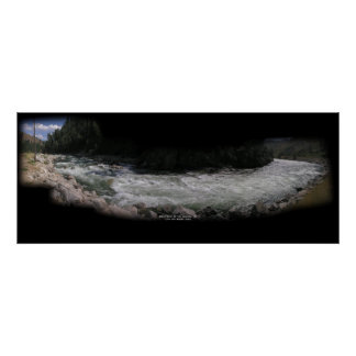 South Fork, Rapids de la escalera Póster
