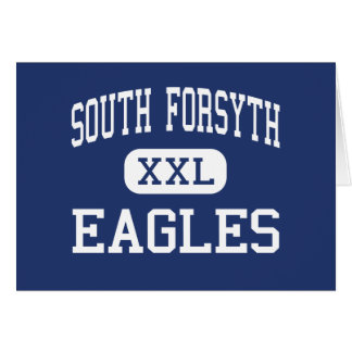 South Forsyth Eagles Middle Cumming Georgia Greeting Cards