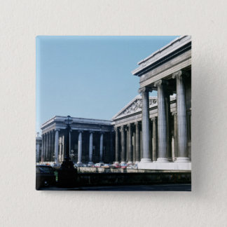 South front of the British Museum Pinback Button