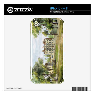 South Front, Old Palace, Kew Gardens, plate 2 from Decals For iPhone 4S
