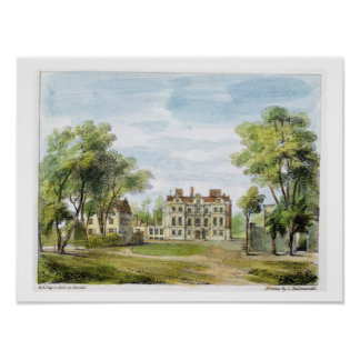 South Front, Old Palace, Kew Gardens, plate 2 from Poster
