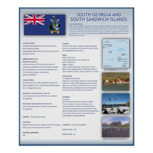 South Georgia and South Sandwich Islands Posters