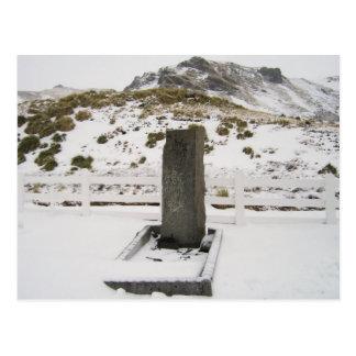 South Georgia Island - Sir Ernest Shackleton Grava Postal