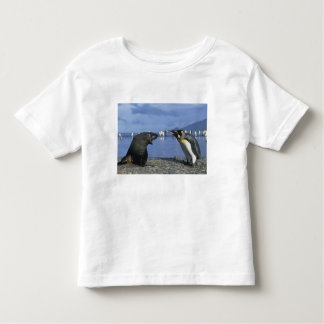 South Georgia Island, St. Andrews Bay, King Toddler T-shirt