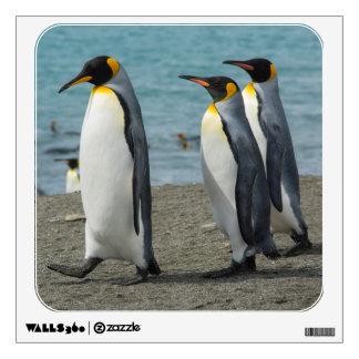 South Georgia. Saint Andrews. King penguins 9 Room Sticker