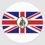 South Georgia South Sandwich Islands Flag alt2 Sticker