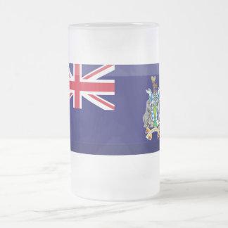 South Georgia South Sandwich Islands Flag Jewel Mugs